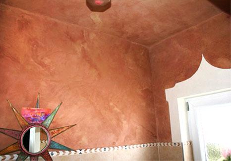 Decken- und Wandbemalung