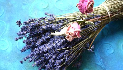 Blumenstrauß getrocknet